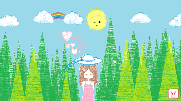 MS paint: Beauty of Simple Nature by vt2000