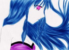 99 coloured digitally by Gothic-Enchantress