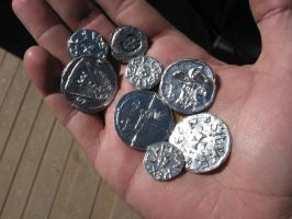 Medieval Coins by vonmeer