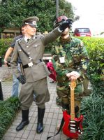 AAD #9 - German General and Guitar Soldier 1 by vincent-h-nguyen