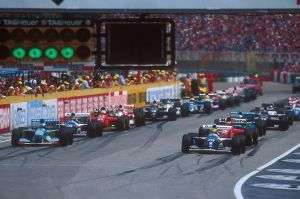 1994 San Marino Grand Prix Start by F1-history