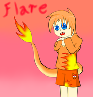Flare by SilverBlue-Neko
