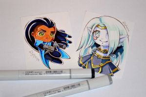 Coloring Book Voting Time! by Lighane