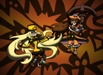 Guilty Gear Xrd: Millia and May by Endangered-CDs