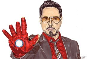 Robert Downey Jr by Thestickibear