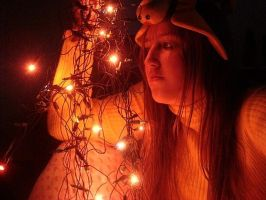 Cosplay Naru Narusegawa (Christmas Lights) by AndroideDezoito