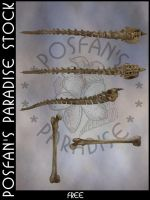 Bone Spines + Bones by poserfan-stock