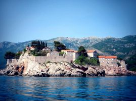 Sveti Stefan by OV-art