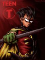 TT: Save The Titans - Robin by sazzykins