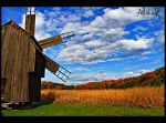 Romanian Wind-Mill by ad-shor