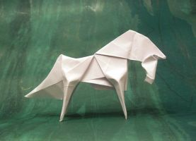 Origami horse by Orestigami