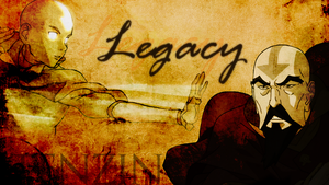Aang and Tenzin - Legacy by checkers007