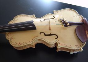 17th century model violin just finished by deviantviolins