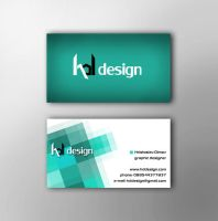 Business card design 1 by XDimov
