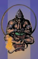 Hanuman Color by Blaw81