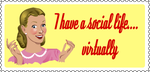 social life stamp by QuicheLoraine