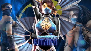 Kitana by lucyferrier
