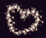Firework heart by Gryfcia