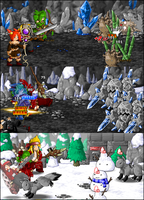 Crystal Caverns Battles by KupoGames