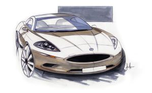 Jaguar XK by sheriffdesignstudio