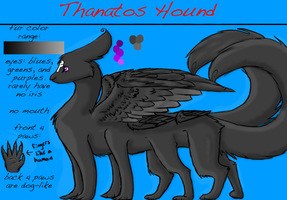 Thanatos Hound ref by guardianhawkpool