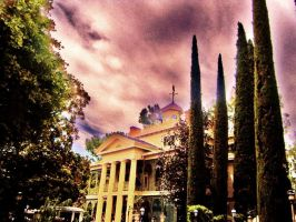Haunted Mansion by disneylandpirate