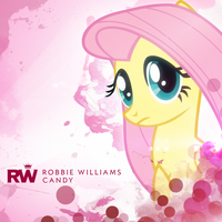 Robbie Williams - Candy (Fluttershy) by impala99