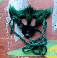 Green Fox Mask (And More!) by lupagreenwolf