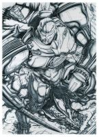 Gipsy Danger :pencils: by emmshin