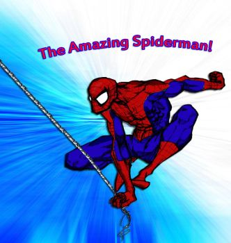 Spiderman Colored by geos59