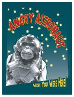 Angry Astronot by MercenaryGraphics