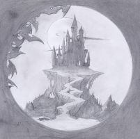 Castlevania Sketch by verreaux