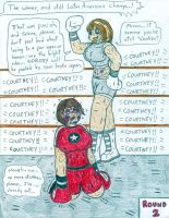 Boxing Courtney vs Selene Strike by Jose-Ramiro