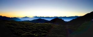 Summit of the Alpes by rdalpes