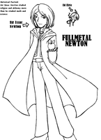 Fullmetal Newton by GuardianYashu