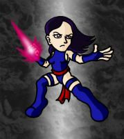 Mini Marvels - Psylocke by ZappaZee