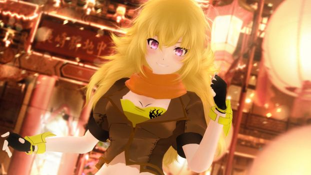 Yang Xiao Long by sculp2