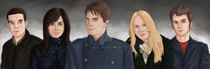 New Team Torchwood by Helonzyz