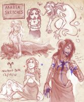 Aradia Sketches by calonarang