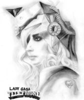 Lady GaGa_Telephone by AngieElric666