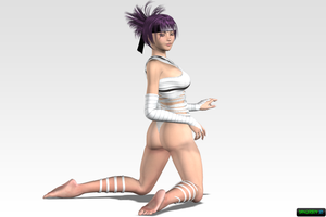 Anko in Bandages for AyanaPL by Dangerboy3D