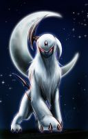 + Absol - by slifertheskydragon