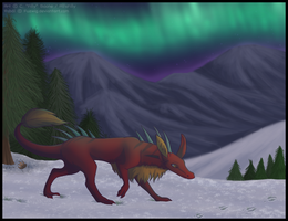Hunting By the Lights by AlfaFilly