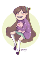 [Fanart] Mabel Pines by PUETHAR