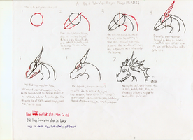 Dragon heads how-to-draw by Takato14