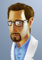 Gordon Freeman by evilmutantman