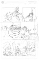 Ouroboros is 1 pg 7 pencil by neilak20