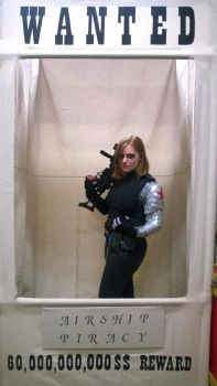 Wanted: Bucky Barnes by CyrialBerry