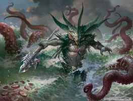 Harbinger of the Tides by velinov
