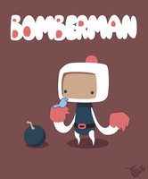 Bomberman by knitetgantt